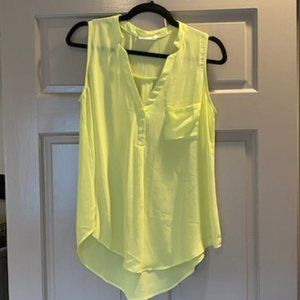 Lush Nordstrom lime green tank top